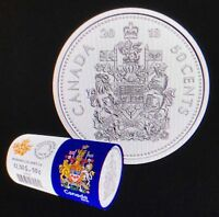 Coat of Arms From Roll UNC 2011 Canada 50 Cents