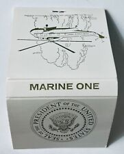 Marine One Presidential Vintage Matchbook Cover, Presidential Seal & Helicopter