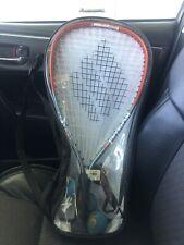 New listing Ektelon Energy Power Level 900 Racquetball Set Used 3balls+ Glasses and Carrier