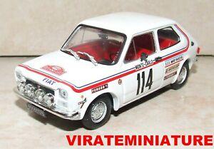 FIAT 127 SPORT RALLYE MONTE CARLO 1973 BERNARD DONGUES BRUMM 1/43