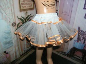 """White Nylon Net Slip Petticoat 25"""" Doll clothes fits Mattel Charmin Cathy"""