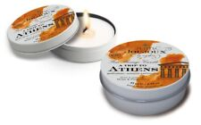 "Massage Candle "" a Trip To Athens "" Candle And Massage Oil IN One New Can"
