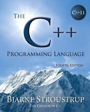 The C++ Programming Language by Bjarne Stroustrup (2013, Hardcover)
