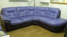 Leather Left Hand Corner/Sectional DFS Sofas