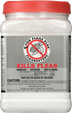 Flea Buster Kill Eliminate Powder Treatment Ticks Lice Pet Dog Protect Home Care