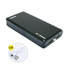 New 20000mAh 5V/2A Smart Power Bank Dual USB LED Portable Charger For Cell Phone