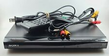 Sony Dvp-Sr210P Dvd Player with remote and a/v cables Tested - Works!