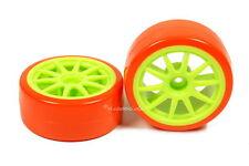 Drifträder Driftreifen 1:10 Neon Grün Orange bunte Lauffläche Drift Räder Reifen