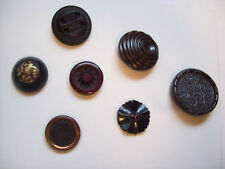 7 COLLECTIBLE BUTTON lot