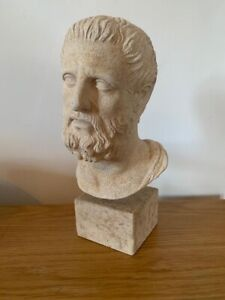 Antique Vintage Fine Model - Bust of Aristotle