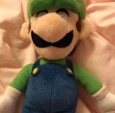 Super Mario Bros Luigi Plush Stuffed Animal