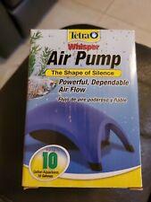 Tetra Whisper Air Pump  (Up to 10 Gallon Aquariums) new! Fast Free Shipping!