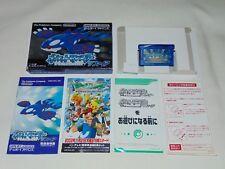 Game Boy Advance JAP Pokemon Shappire U1408