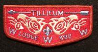 MERGED TILLICUM OA LODGE 392 Tumwater Area 155 BSA 348 155 S-6 RESTRICTED FLAP