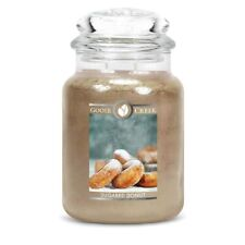 Goose Creek Sugared Donut Large Jar Scented Candle FREE P&P