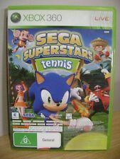 Sega Superstars Tennis..Xbox Live ArcadeCompilation Disc.XBOX 360..FREE POST AU