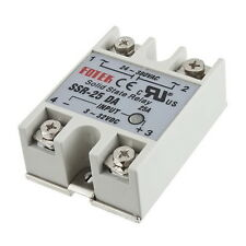 Solid State Relay Module SSR-25DA 25A /250V 3-32V DC Input 24-380VAC Output ~OK