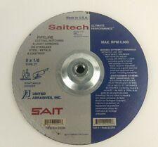 UNITED ABRASIVES SAIT 22299 Pipeline Cutting Wheel, T-27, 9x1/8x5/8-11 Grinder