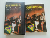 GENESIS RARE SPAIN BOOK + VHS SALVAT VIDEO ROCK COLLECTION 1991 Live Mama Tour