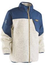 NWT Under Armour Boys' Storm Tanuk Sherpa Jacket Oatmeal Heather Size 7