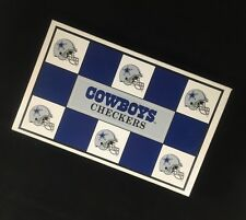 NFL Dallas Cowboys CHECKERS Game Americas Team Football FREE SHIPPING