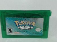 POKEMON EMERALD Gameboy Advanced GBA Acceptable