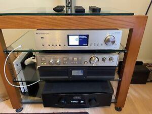 Cambridge Audio Azur 851N Network Player/DAC/Streamer/Pre-Amp  Silver Excellent