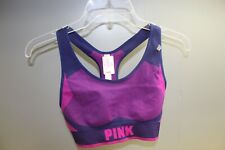 Pink sport bra Unlined PINK printed  Style#11138045 Coloir:multi Size: M - Nwt