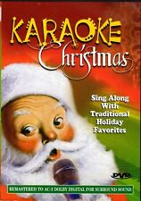 KARAOKE CHRISTMAS SING-ALONG WITH 20 TRADITIONAL HOLIDAY FAVORITES for your HDTV