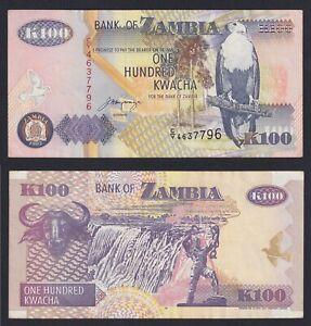 Zambia 100 kwacha 1992 (2001) SPL+/XF+  C-05