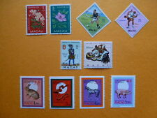 LOT 5288 TIMBRES STAMP DIVERS MACAO MACAU ANNEE 1953 A 1995