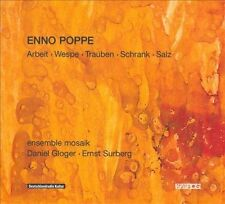 Enno Poppe: Arbeit; Wespe; Trauben; Schrank & Salz (CD, Mar-2013, Kairos)