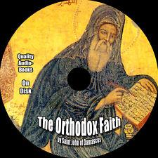 The Orthodox Faith, Saint John of Damascus, On 9 Audio CDs