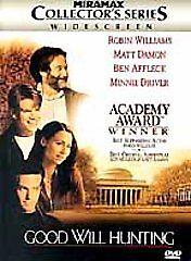 Good Will Hunting DVD Gus Van Sant(DIR) 1997