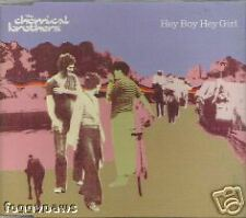 NEW The Chemical Brothers - Hey Boy Hey Girl CD Single
