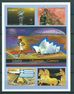 Gambia,2000,Olympic,Imprf,compl,MNH,Sc not listed