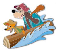 Disney Splash Mountain Pin Brer Bear Brer Fox Disney Fantasy Pin