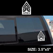 Apex Logo Symbol Mass Effect Andromeda sticker decal white die cut vinyl