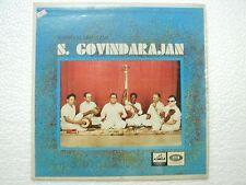 ISAIMANI SIRGAZHI S GOVINDRAJAN  TAMIL BASIC carnatic RARE LP CLASSICAL INDIA vg