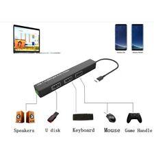 USB-C SPEAKER AUX AUDIO 3.5mm CABLE OTG 3.0 ADAPTER HUB for MACBOOK PRO AIR iPAD