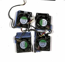 LOT of 4X  519199-001-HP Proliant DL180 G6 60mm Cooling Fan Assembly 530748-001
