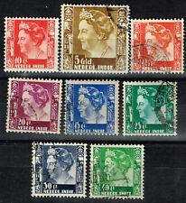 Netherlands Indies Queen Wilhelmina stamps 1933