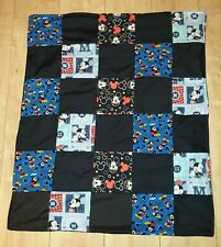 **REDUCED TO CLEAR** MICKEY MOUSE PATCHWORK BLANKET
