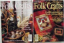 Country Home Folk Crafts Magazine Lot of Two 1994