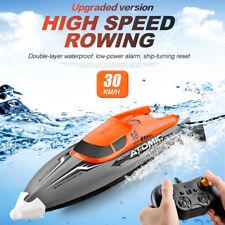 2,4GHz 4CH 30 KM/H RC Rennboot Ferngesteuertes Speedboot IPV7 Wasserdicht Schiff