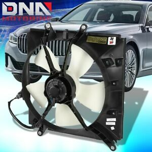 FOR 1993-1997 GEO PRIZM TOYOTA COROLLA FACTORY STYLE RADIATOR COOLING FAN SET