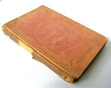 Rare Antique 1800s Song Book, Three Part Songs - Canadian National Series c1879