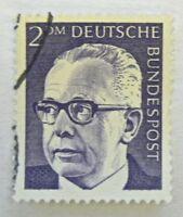 100 x Briefmarke Heinemann 2 DM Nr. 645