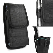 Belt Clip Vertical Holster Pouch Carry Case i Phone Samsung Large Cell Phone