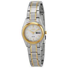 Seiko Solar Stainless Steel Ladies Solar Quartz Watch SUT108-AU